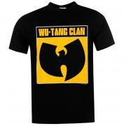 Tričko Official Wu Tang Clan T Shirt Mens Logo