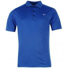 Nike Solid Polo Mens Royal