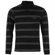 Pierre Cardin Long Sleeve Top Mens Navy