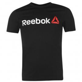 Reebok Delta Logo T Shirt Mens Black