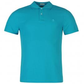 Original Penguin Pop Logo Polo Shirt Tile Blue