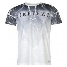 Tričko Firetrap Sub T Shirt Mens Lightning