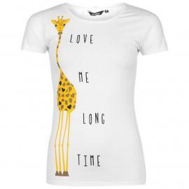 Golddigga Fashion T Shirt Ladies FOX Sake