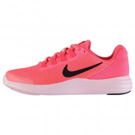 Nike Lunar Converge Junior Girls Trainers Pink/Black