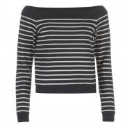 Only Carin Shoulder Sweatshirt Night Sky