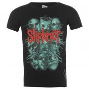 Tričko Official Slipknot T Shirt Masks