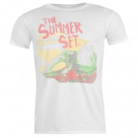 Tričko Official The Summer Set (TSS) T Shirt Mens Wave