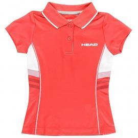 HEAD Club G Polo Shirt Junior Red