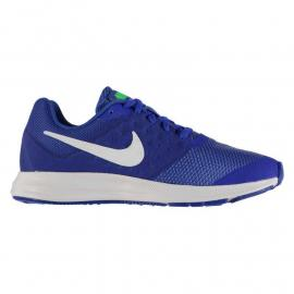 Nike Downshifter 7 Junior Trainers Blue/White