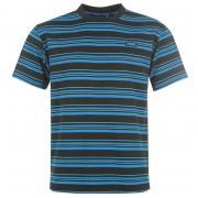 Tričko Lonsdale Crew T Shirt Mens Black/Blue