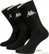 Ponožky Kappa  3 pack černé
