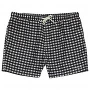 Pierre Cardin XL Large Check Shorts Mens Black/White
