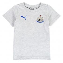 Puma Newcastle United Fan T Shirt Infant Boys Grey