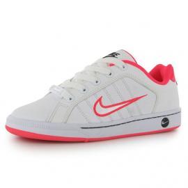 Nike Court Trad 2 Junior Girls Trainers White/Pink