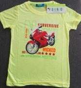 Tričko dětské Fashion Boy   žlutá