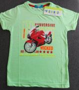 Tričko dětské Fashion Boy  zelená