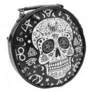 Banned Skull Handbag Pentagram