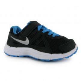 Boty Nike Revolution 2 Child Boys Running Shoes Black/Blue
