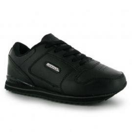 Donnay Classic Ice Junior Trainers Black/Dk.Grey