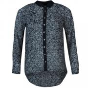 Košile Firetrap Kennedy Shirt Ladies Peacoat