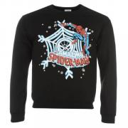 Mikina Character Sweatshirt Mens Spiderman
