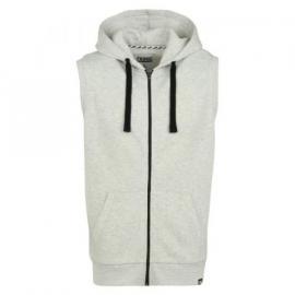 Mikina Fabric Sleeveless Hoodie Frost Marl Velikost - XL