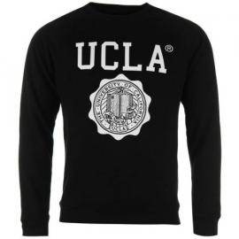 Mikina UCLA Lauther Crew Neck Sweater Black