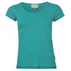 Miss Fiori Scoop T Shirt Ladies Teal
