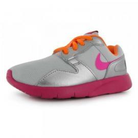 Nike Kaishi Run Childrens Girls Trainers Platinum/Pink
