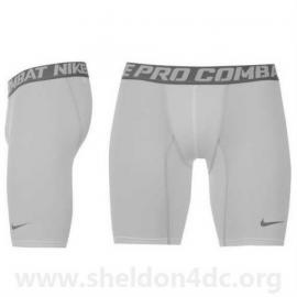 Nike Pro Core 6 Shorts Mens White