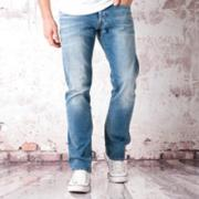 Replay Mens Waitom Regular Slim Jeans Blue