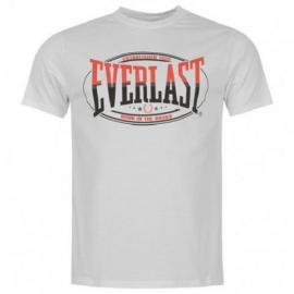 Tričko Everlast Classic T Shirt Mens White