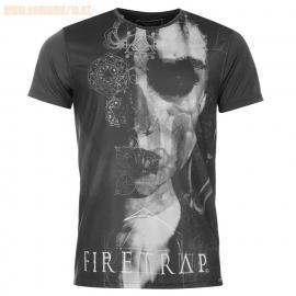 Tričko Firetrap Serpent Sub T Shirt Mens Black