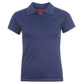 Polokošile Miss Fiori Polo Shirt Ladies Navy