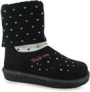 Skechers Twinkle Toes Childrens Boots Black