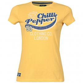 Dámské tričko Chilli Pepper- Žluté
