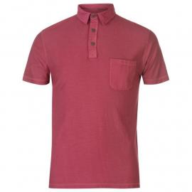 Pierre Cardin Jersey Polo Shirt Mens Red
