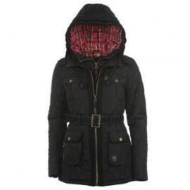 Dámská bunda Kangol Parka- Černá