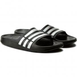 Adidas Duramo Mens Sliders Black/White