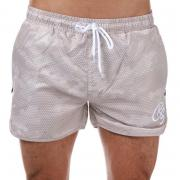 Crosshatch Mens Sanros Swim Shorts Oatmeal