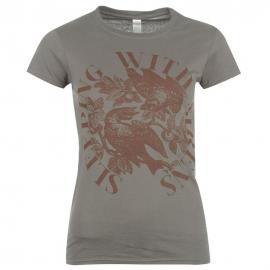 Dámské tričko BrandT Sirens- Šedé