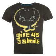 Pánské triko Mr. Happy - černé