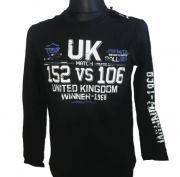 Tričko s dlouhým rukávém UK Winner - 1968 černá