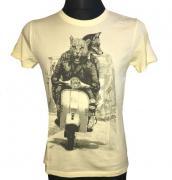 Pánské tričko s krátkým rukávem Leeyo žlutá
