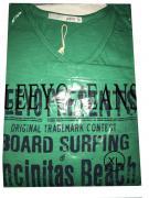 Pánské triko s krátkým rukávem Leeyo Present zelená