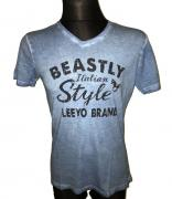 Pánské triko s krátkým rukávem BEASTLY ITALIAN STYLE  modrá