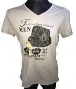 Pánské triko s krátkým rukávem Superjoy béžová