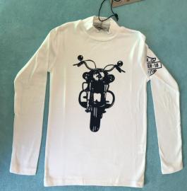 Chlapecké tričko s dlouhým rukávem Small Gang 1986 bílá Velikost - 10 let