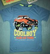 Dětské tričko s krátkým rukávem Fashion Boy modrá