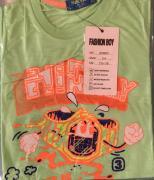 Dětské tričko s krátkým rukávem Fashion Boy zelená